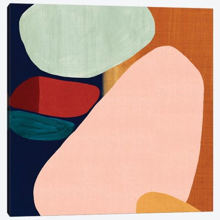 Stacking Pebbles II  Canvas Print #EWA203} by Eva Watts Canvas Art Print