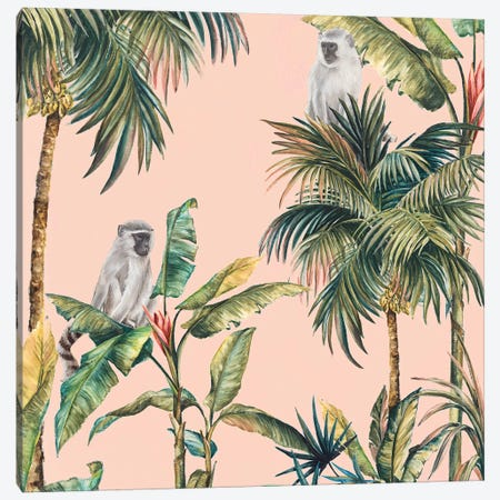 Tropicano I  Canvas Print #EWA209} by Eva Watts Canvas Print