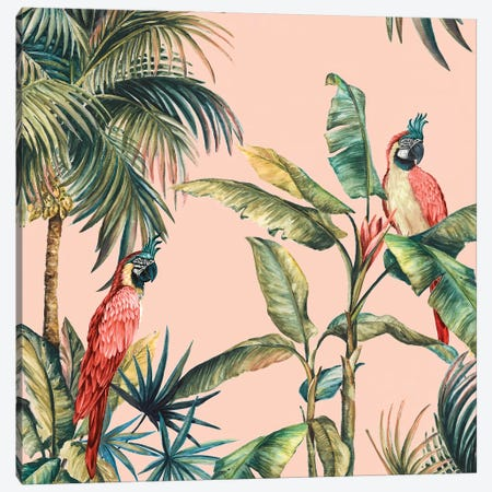 Tropicano IV Canvas Print #EWA212} by Eva Watts Canvas Art