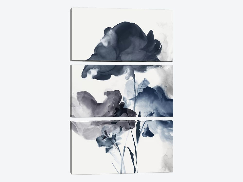 Azura Bouquet II  by Eva Watts 3-piece Canvas Print