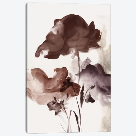 Azura Bouquet II Crimson Version  Canvas Print #EWA231} by Eva Watts Canvas Artwork