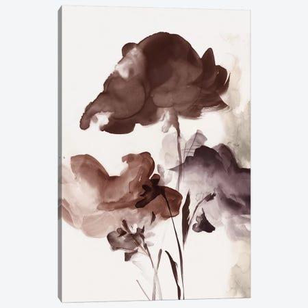 Azura Bouquet II Crimson Version  Canvas Print #EWA231} by Eva Watts Canvas Artwork