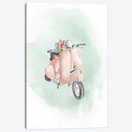 Coral Bike Canvas Print #EWA235} by Eva Watts Canvas Print