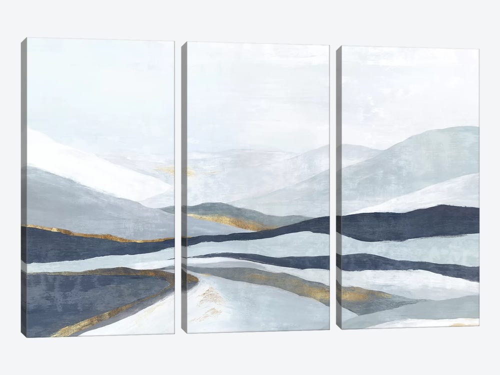 Far Away Land I by Eva Watts 3-piece Canvas Art