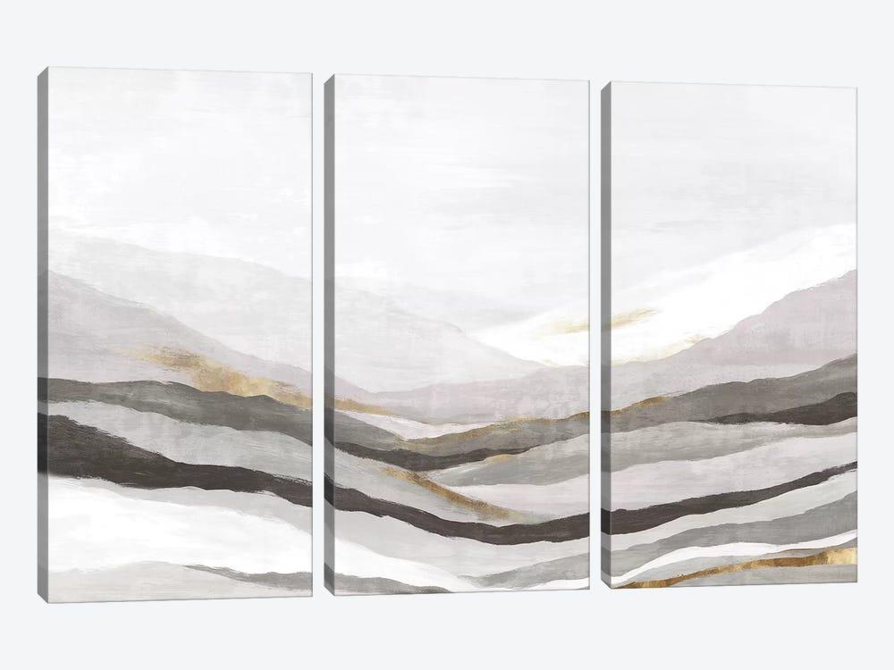 Far Away Land II Neutral Version  by Eva Watts 3-piece Art Print