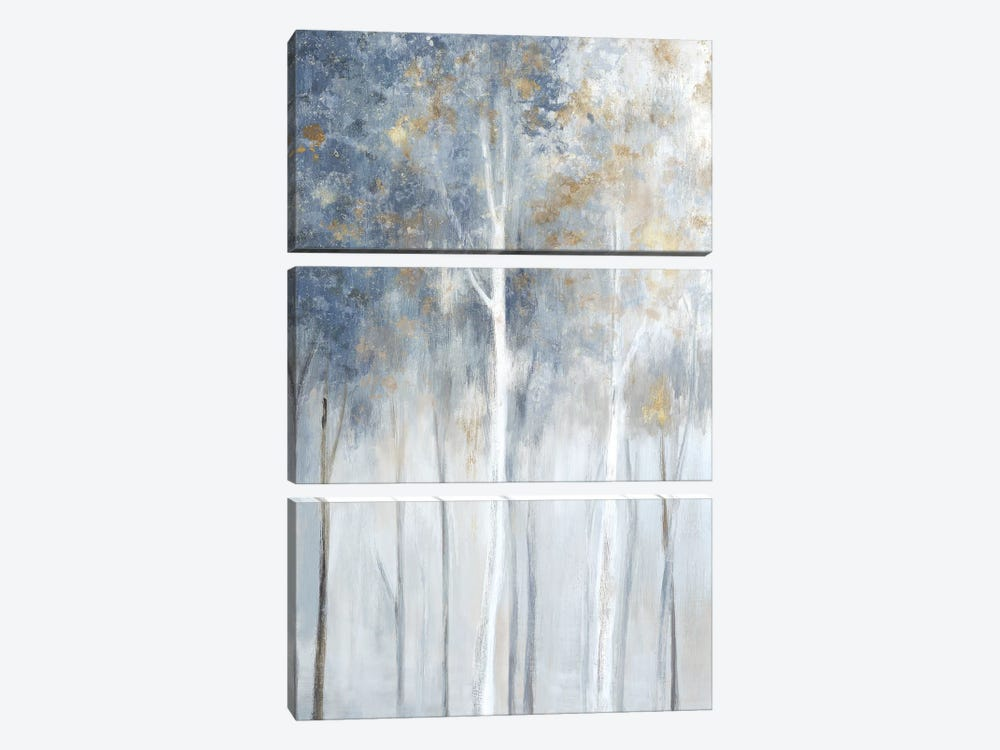 Fog and Gold II 3-piece Art Print