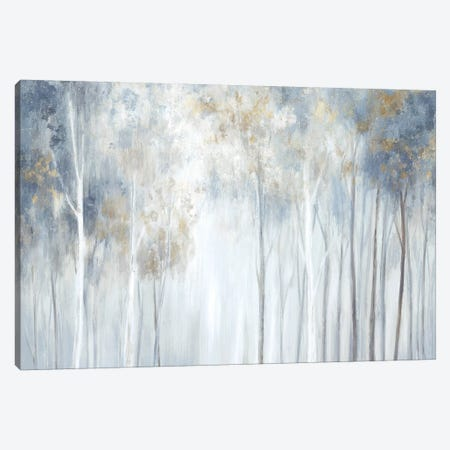 Forest Magic Canvas Print #EWA255} by Eva Watts Art Print
