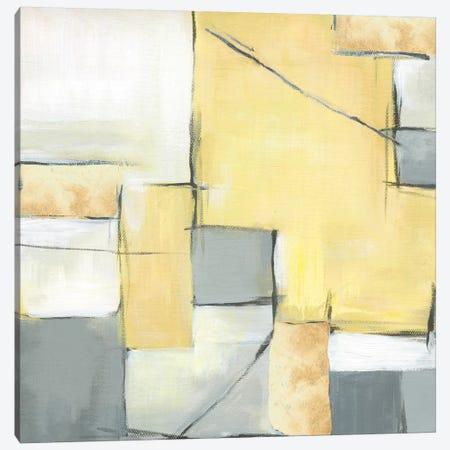 Golden Abstract II Canvas Print #EWA25} by Eva Watts Canvas Print