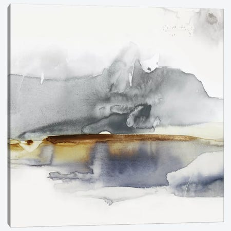 Gray Lunar II  Canvas Print #EWA260} by Eva Watts Art Print