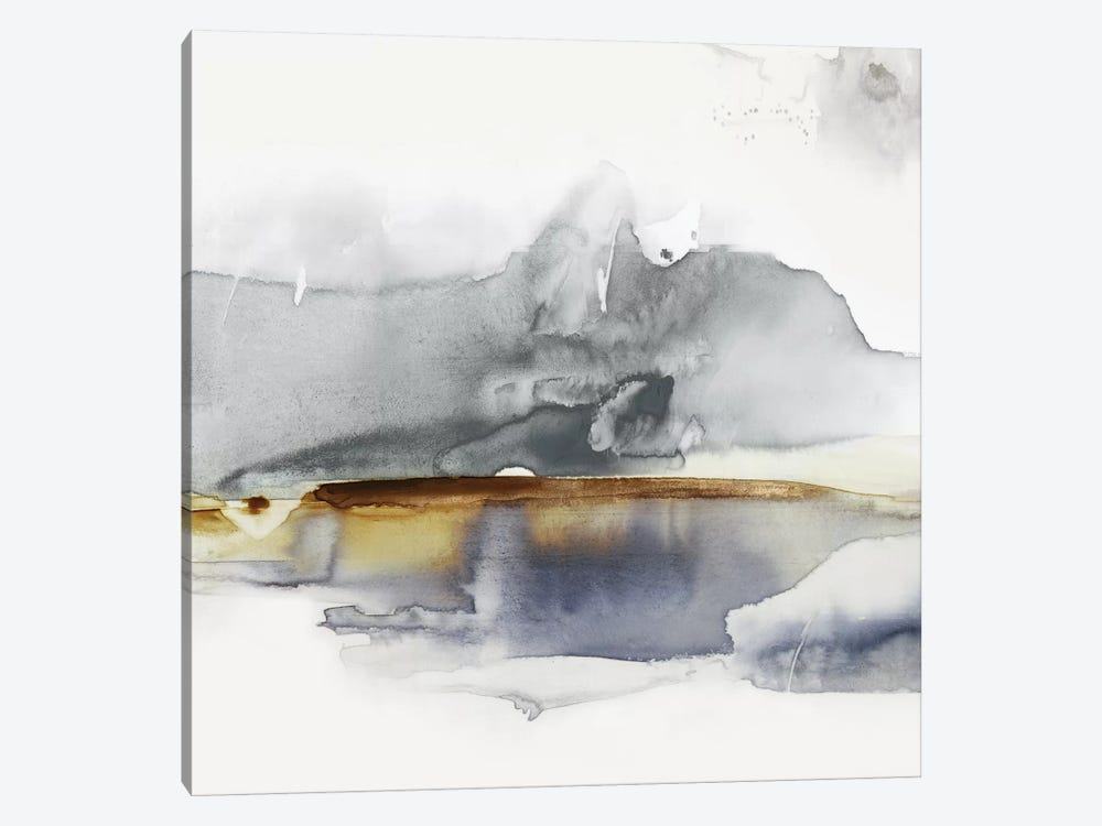 Gray Lunar II  by Eva Watts 1-piece Canvas Wall Art