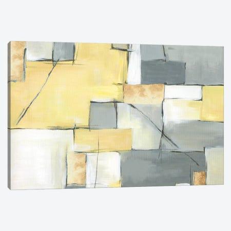 Golden Abstract III Canvas Print #EWA26} by Eva Watts Canvas Print
