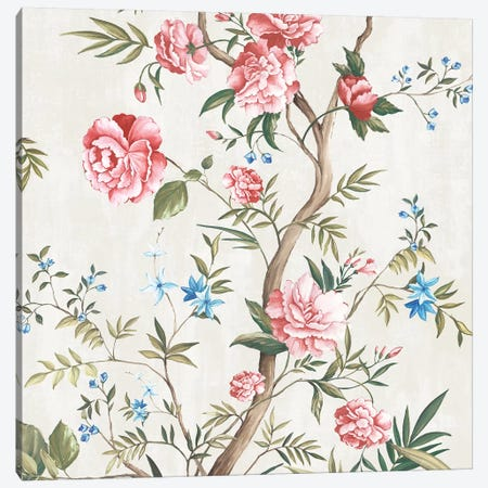 Japanese Silk I Canvas Print #EWA270} by Eva Watts Canvas Art