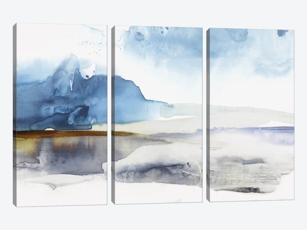 Lunar Landscape  by Eva Watts 3-piece Canvas Wall Art