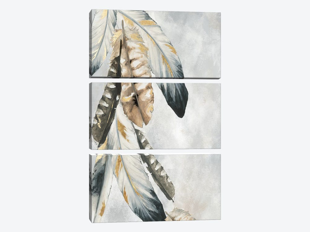 Golden Bunch 3-piece Canvas Wall Art