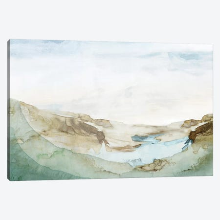 Serene Awakening I  Canvas Print #EWA280} by Eva Watts Art Print