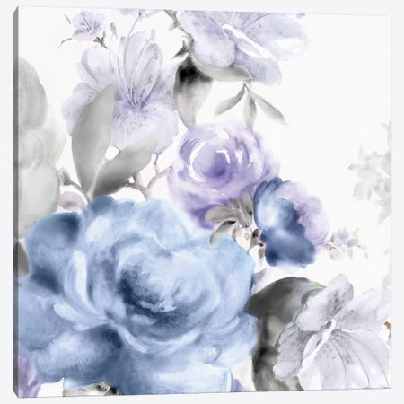 Light Floral I Canvas Print #EWA28} by Eva Watts Canvas Art