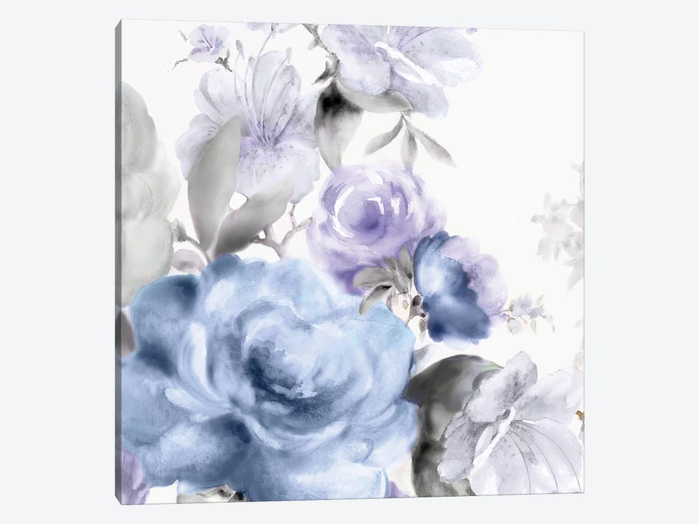 Light Floral I by Eva Watts 1-piece Canvas Print