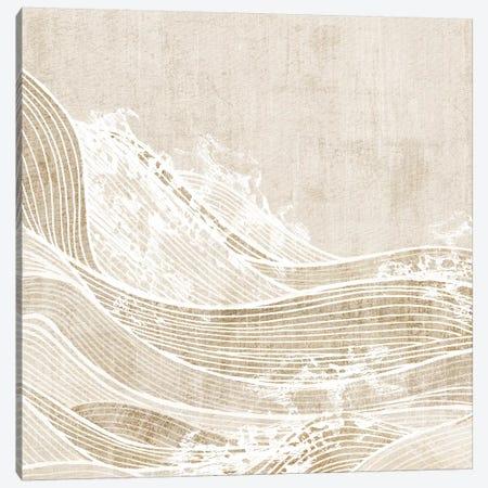 Tidal Waves I  Canvas Print #EWA296} by Eva Watts Canvas Art Print