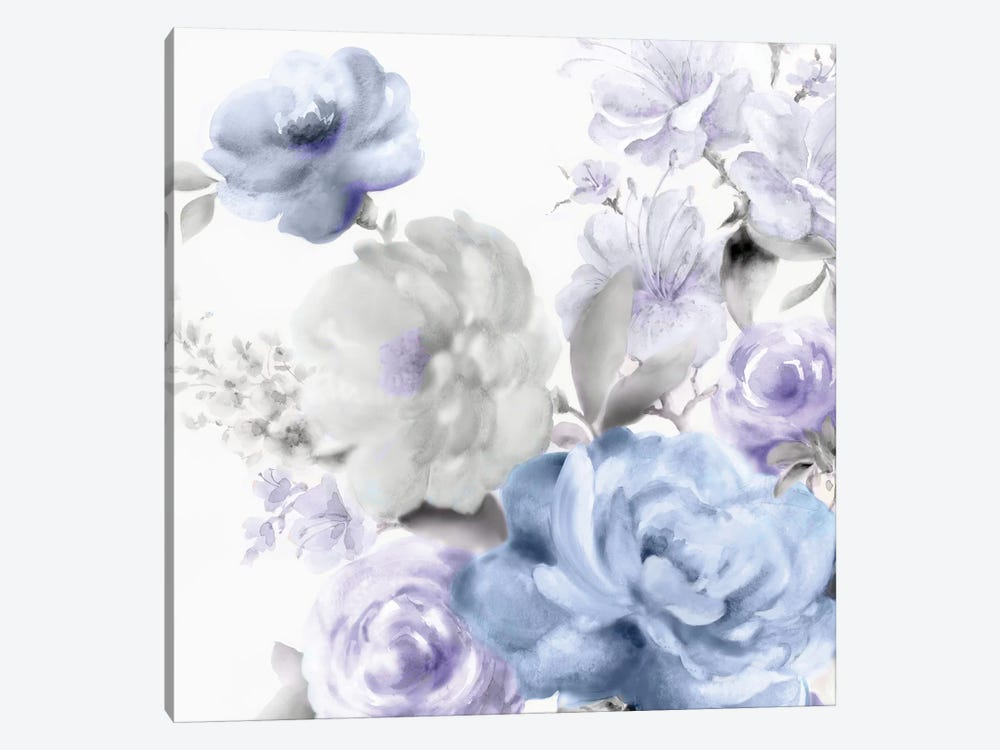Light Floral II by Eva Watts 1-piece Canvas Wall Art