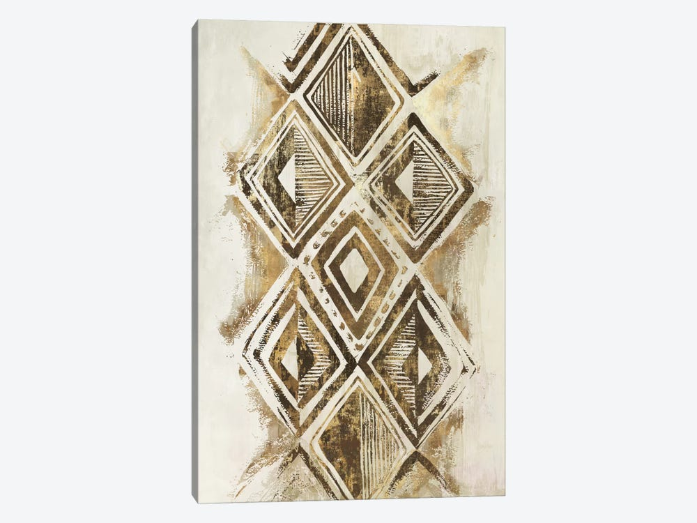 African Diamonds by Eva Watts 1-piece Canvas Artwork