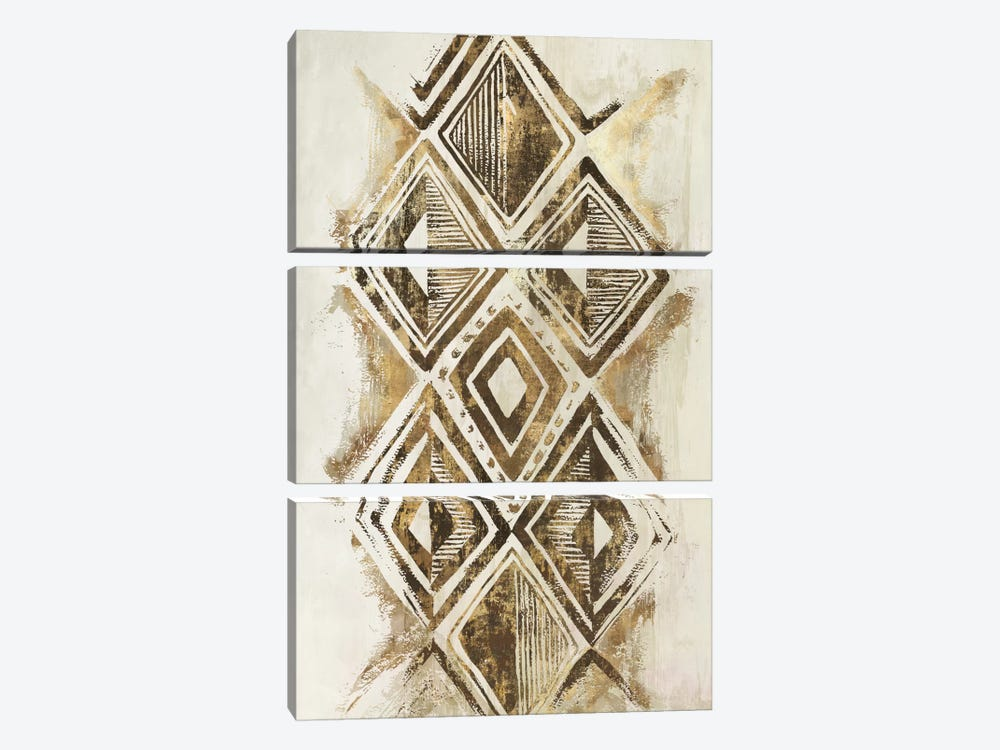 African Diamonds by Eva Watts 3-piece Canvas Wall Art