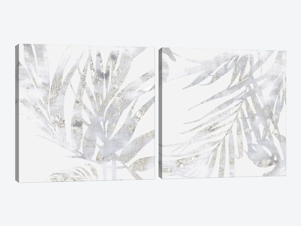 Faded Leaves Diptych by Eva Watts 2-piece Canvas Wall Art