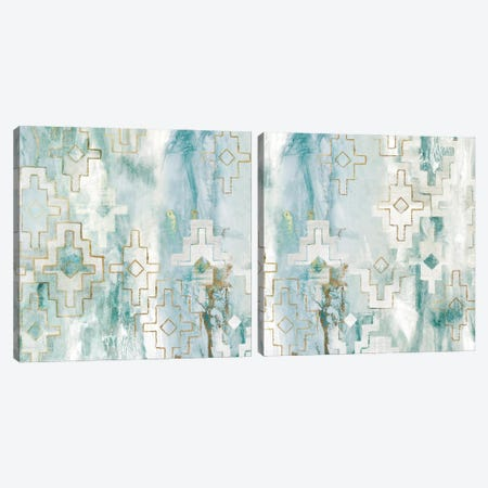 Escaping the Universe Diptych Canvas Print Set #EWA2HSET007} by Eva Watts Canvas Art