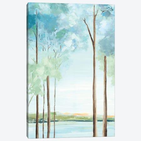 Azure Land I Canvas Print #EWA307} by Eva Watts Canvas Print