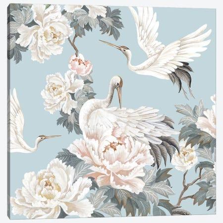 Chinese Silk II Canvas Print #EWA316} by Eva Watts Canvas Art