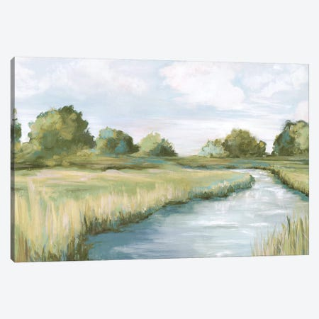 Country River Canvas Print #EWA319} by Eva Watts Canvas Art Print
