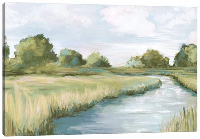 Country River Canvas Art Print
