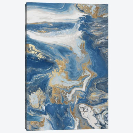 Fluid Memories III 3-Piece Canvas #EWA326} by Eva Watts Art Print