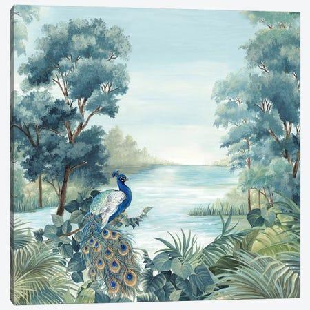 Peafowl Canvas Print #EWA346} by Eva Watts Art Print