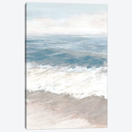 Warm Waves Canvas Print #EWA364} by Eva Watts Canvas Art Print