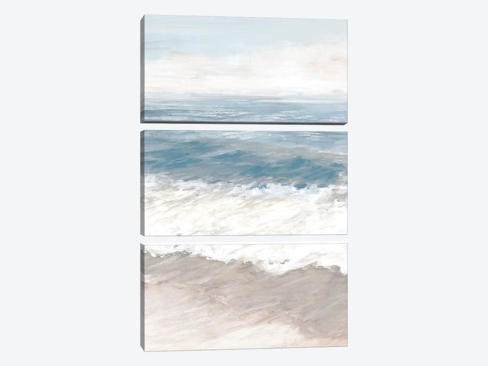 Warm Waves by Eva Watts 3-piece Canvas Print