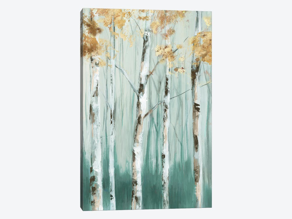 Birch Ale I by Eva Watts 1-piece Canvas Print