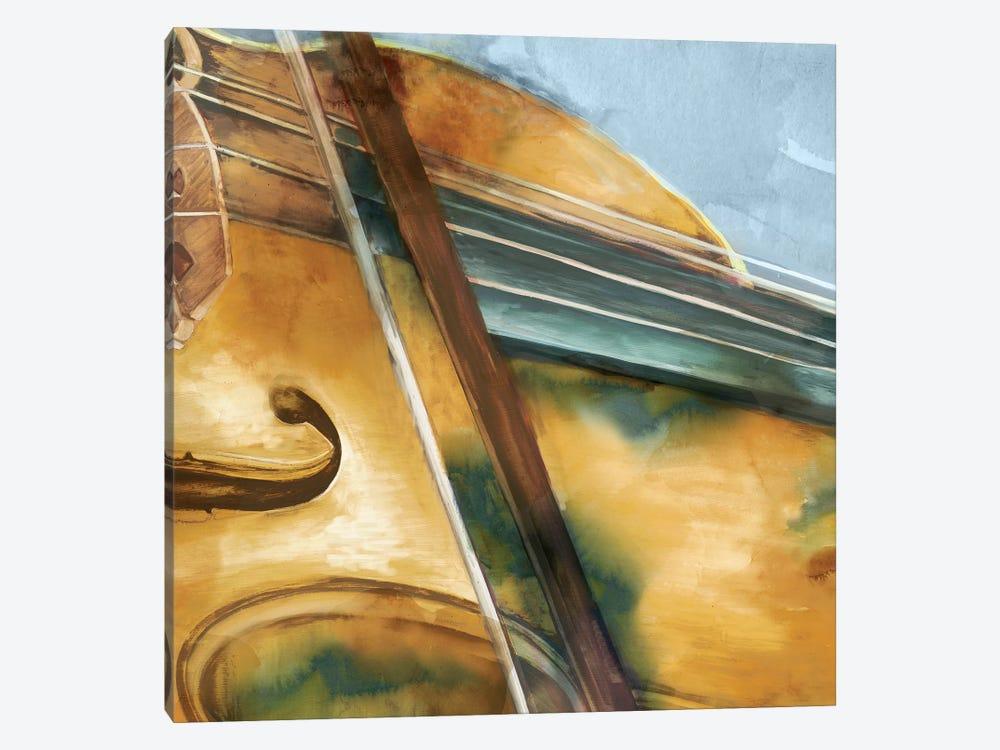 Musical Violin by Eva Watts 1-piece Canvas Wall Art
