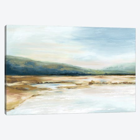 By The Water I Canvas Print #EWA377} by Eva Watts Canvas Wall Art