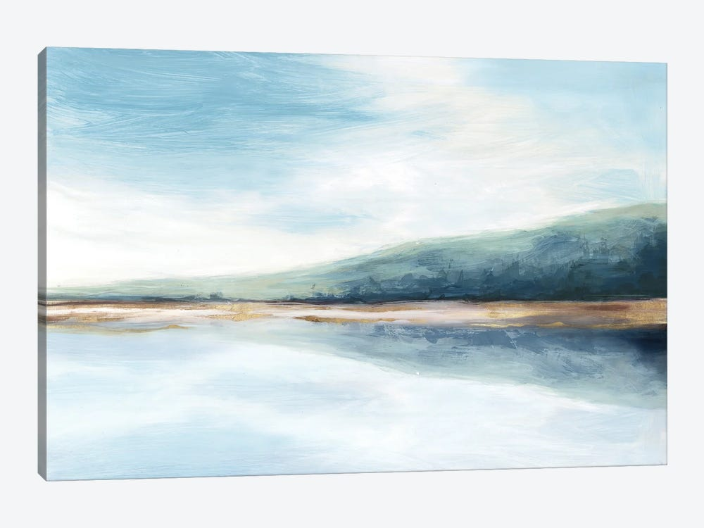 By The Water II by Eva Watts 1-piece Canvas Wall Art