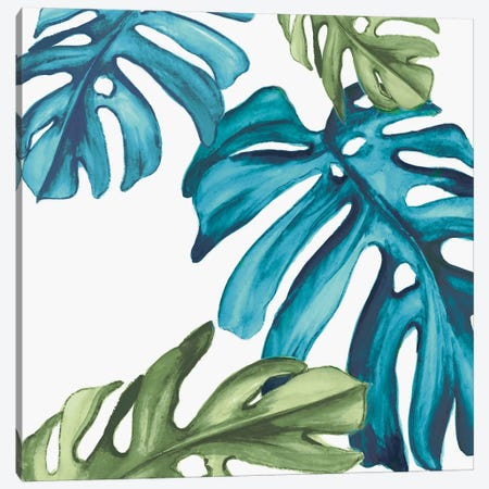 Palm Leaves I Canvas Print #EWA37} by Eva Watts Canvas Artwork