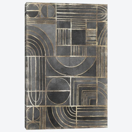 Cosmo Pathways Canvas Print #EWA384} by Eva Watts Canvas Print