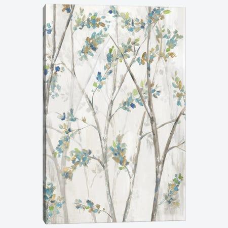 Delicate Branches Canvas Print #EWA386} by Eva Watts Art Print