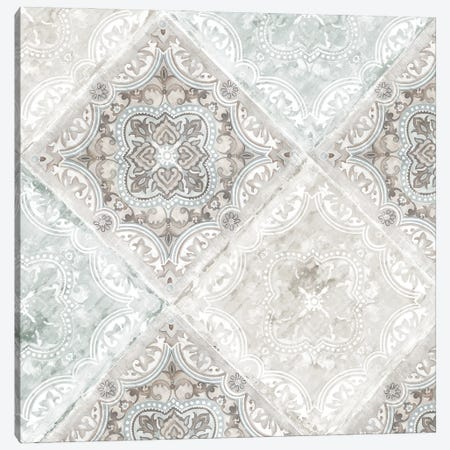 Delicate Tiles Canvas Print #EWA387} by Eva Watts Art Print