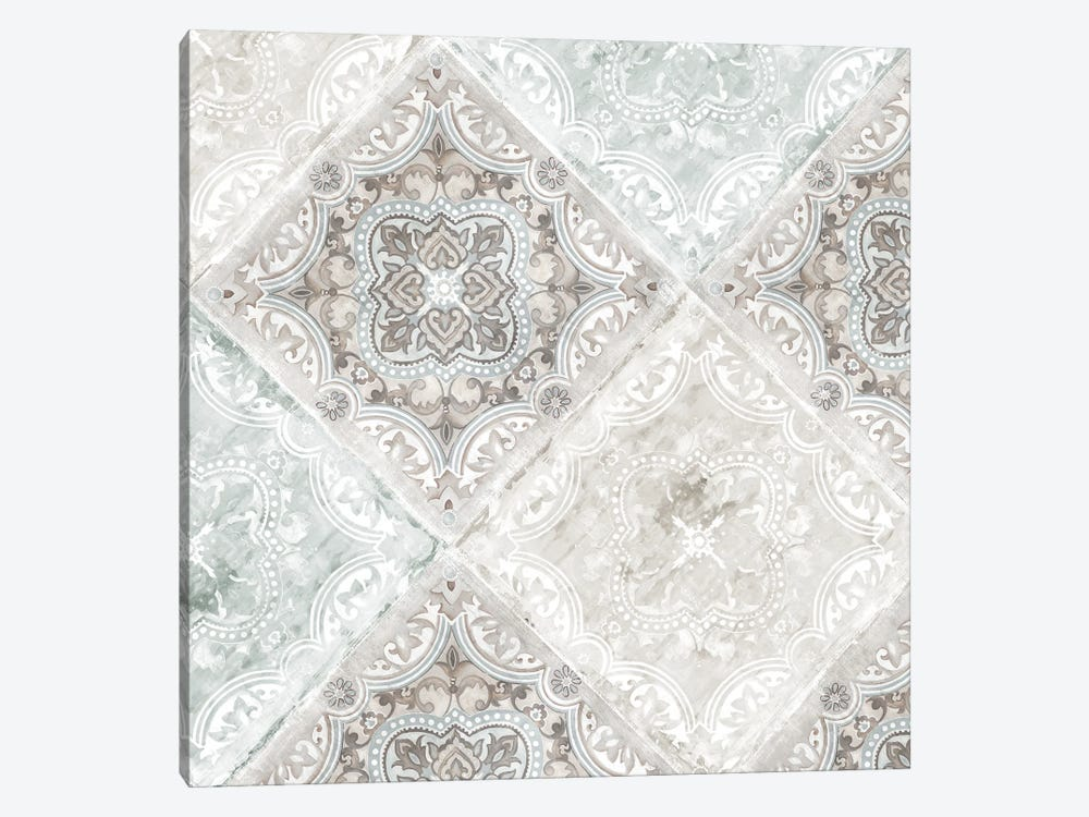 Delicate Tiles by Eva Watts 1-piece Canvas Wall Art