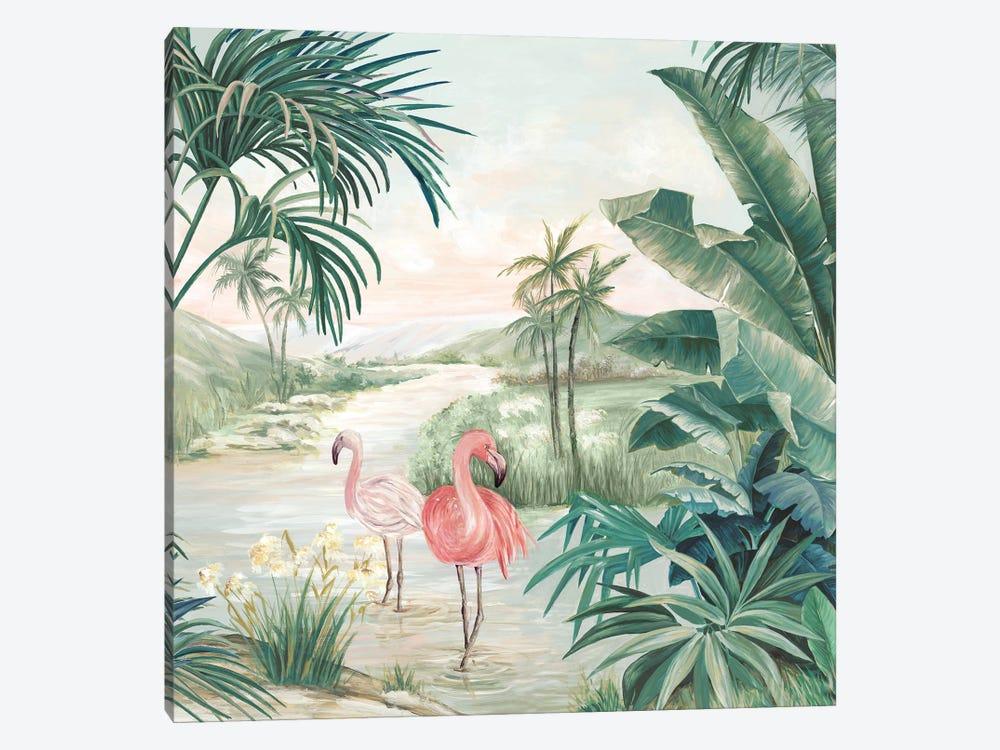 Flamingo Dream by Eva Watts 1-piece Canvas Print