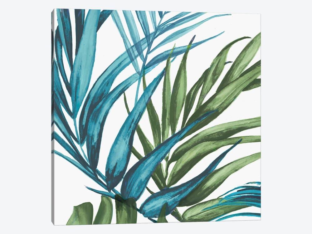 Palm Leaves II by Eva Watts 1-piece Canvas Wall Art