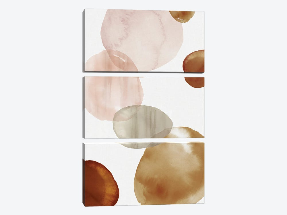 Floating Up II by Eva Watts 3-piece Canvas Art