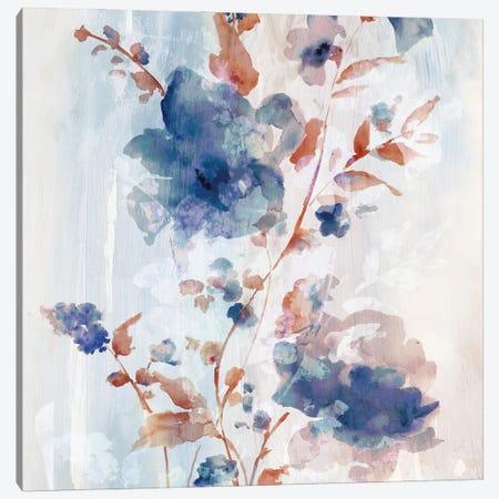 Flower Poetry I Canvas Print #EWA392} by Eva Watts Art Print