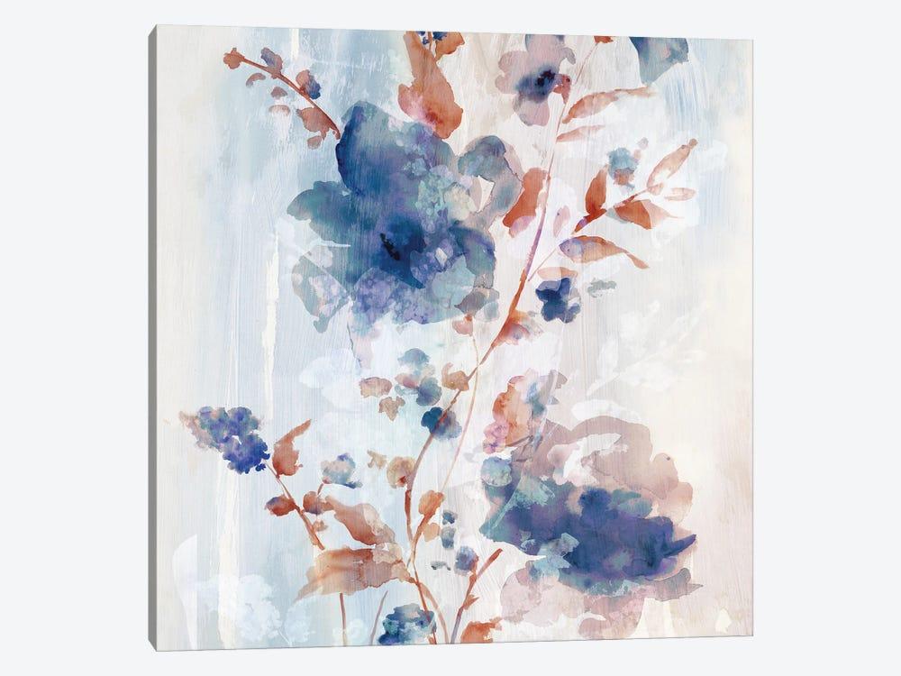 Flower Poetry I by Eva Watts 1-piece Canvas Artwork