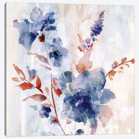 Flower Poetry II Canvas Print #EWA393} by Eva Watts Canvas Art Print